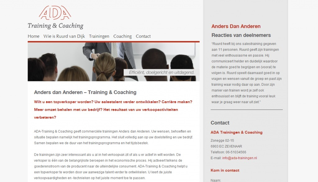 Ada Training & Coaching
